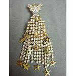 Dazzling Star Fringe Christmas Tree