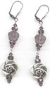 Amethyst Romance Earrings